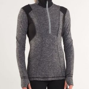 Lululemon Run: Your Heart Out Pullover  Heathered